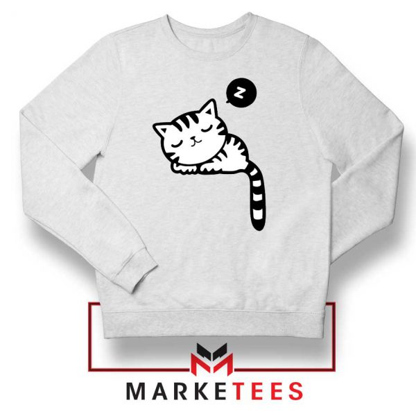 Cute Cat Sleeping Sweatshirt