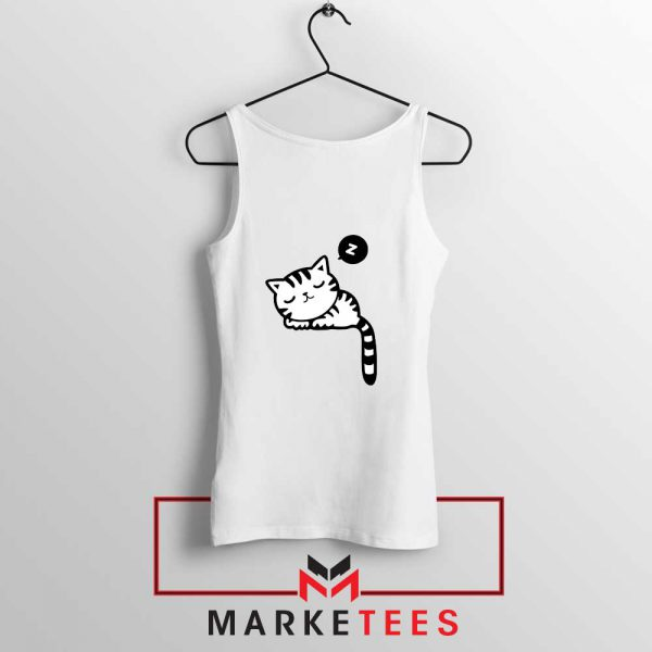 Cute Cat Sleeping Tank Top