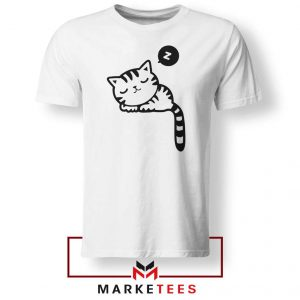 Cute Cat Sleeping Tshirt