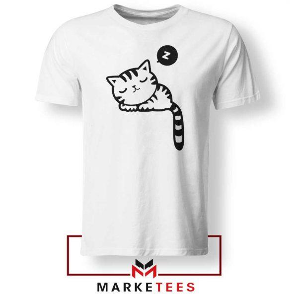 Cute Cat Sleeping Tshirt