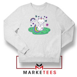 Dabbing Cat Unicorn Sweatshirt