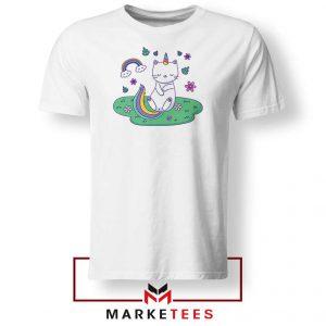 Dabbing Cat Unicorn Tshirt