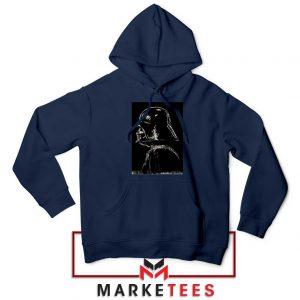 Darth Vader Dark Navy Blue Hoodie