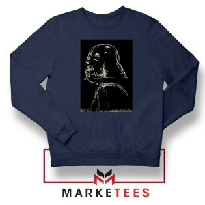 Darth Vader Dark Navy Blue Sweatshirt