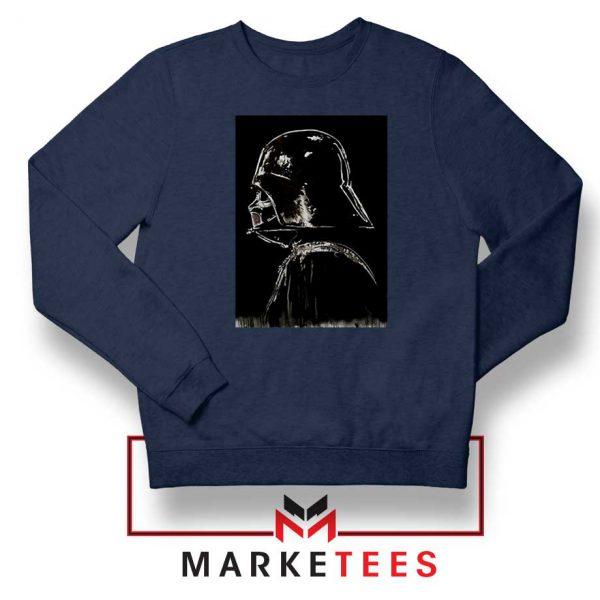 Darth Vader Dark Navy Blue Sweatshirt