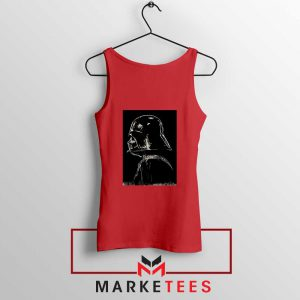 Darth Vader Dark Red Tank Top