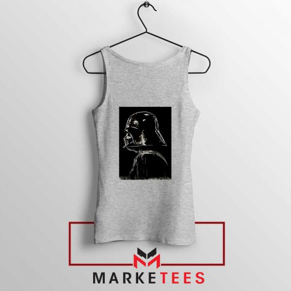 Darth Vader Dark Sport Grey Tank Top