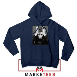 David Bowie Blackstar Navy Blue Hoodie