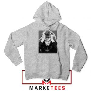 David Bowie Blackstar Sport Grey Hoodie