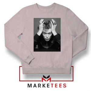 David Bowie Blackstar Sport Grey Sweatshirt