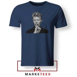 David Bowie Music Navy Blue Tshirt