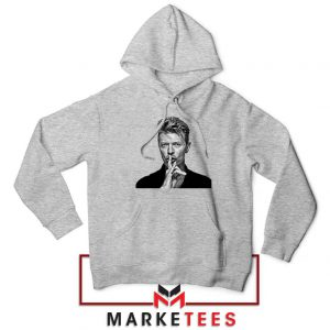 David Bowie Music Sport Grey Hoodie