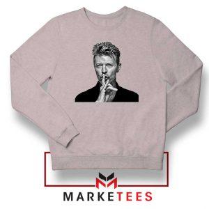 David Bowie Music Sport Grey Sweatshirt