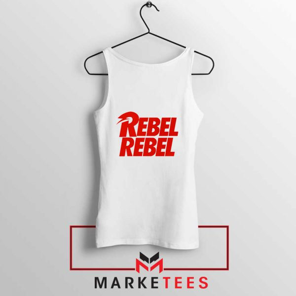 David Bowie Rebel Rebel Tank Top
