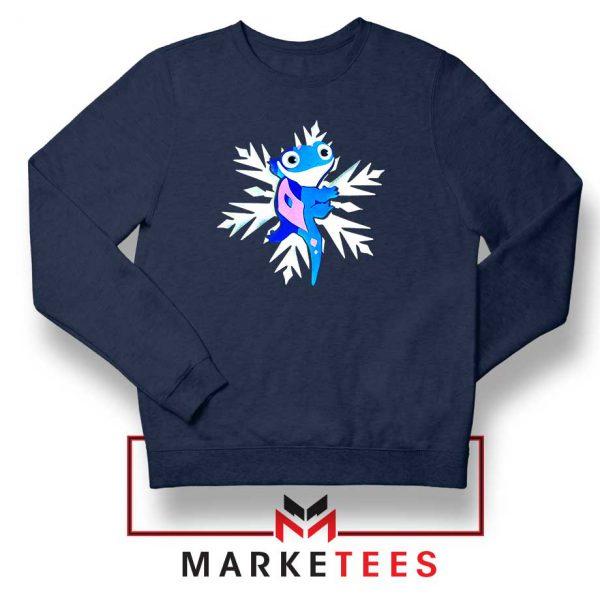 Disney Bruni Navy Blue Sweatshirt