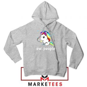 Ew People Unicorn Sport Grey Hoodie