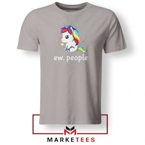 Ew People Unicorn Sport Grey Tshirt