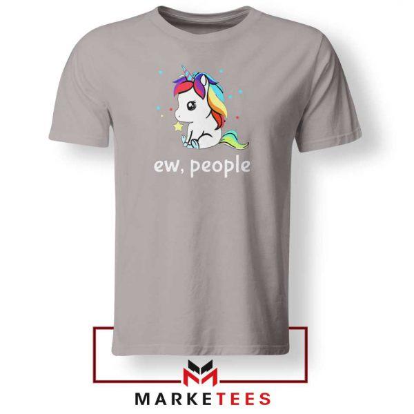 Ew People Unicorn Sport Grey Tshirt