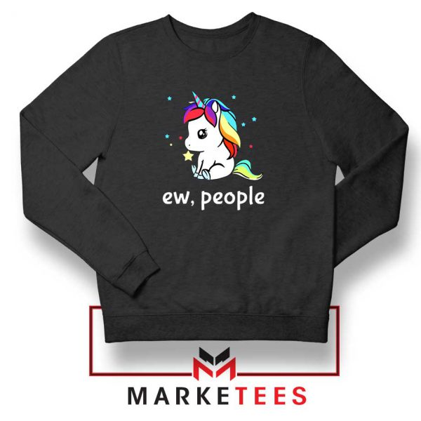 Ew People Unicorn Sweatshirt