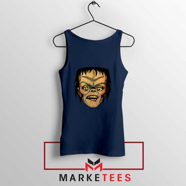 Frankie Dracula Navy Blue Tank Top