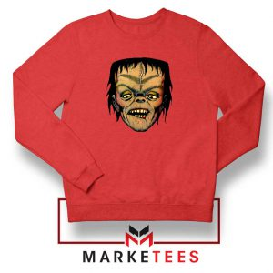 Frankie Dracula Red Sweatshirt