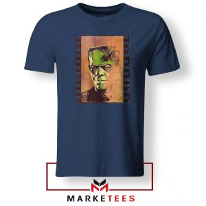 Frankie Horror Navy Blue Tshirt