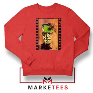 Frankie Horror Red Sweatshirt