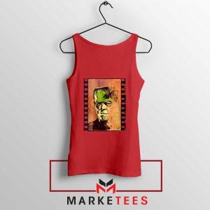 Frankie Horror Red Tank Top