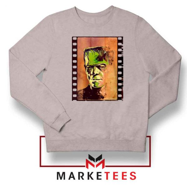 Frankie Horror Sport Grey Sweatshirt