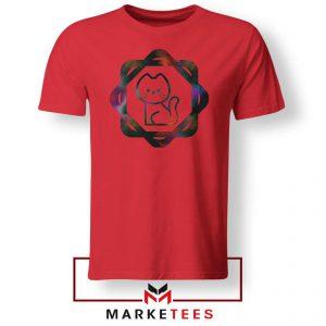 Galacta Kitty Red Tshirt