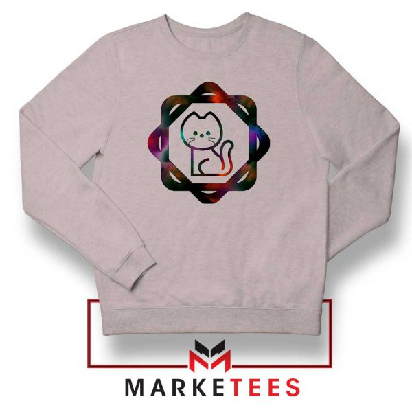 Galacta Kitty Sport Grey Sweatshirt
