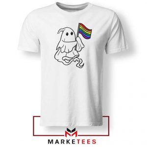 Ghost Rainbow Flag Tshirt