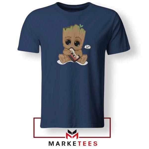 I Am Groot Navy Blue Tshirt