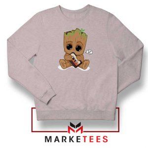 I Am Groot Sport Grey Sweatshirt
