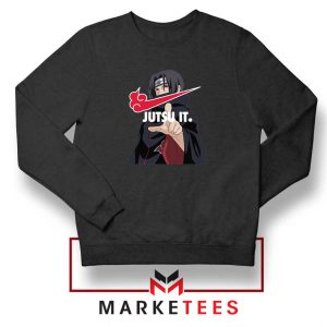 Itachi Jutsu It Black Sweatshirt