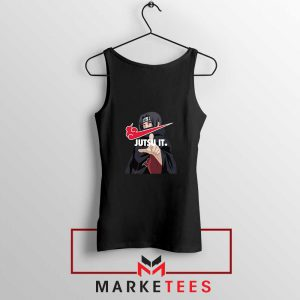 Itachi Jutsu It Black Tank Top
