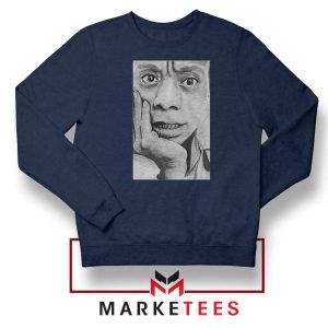James Baldwin Navy Blue Sweatshirt