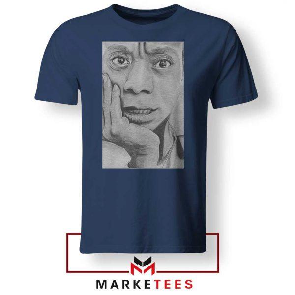 James Baldwin Navy Blue Tshirt