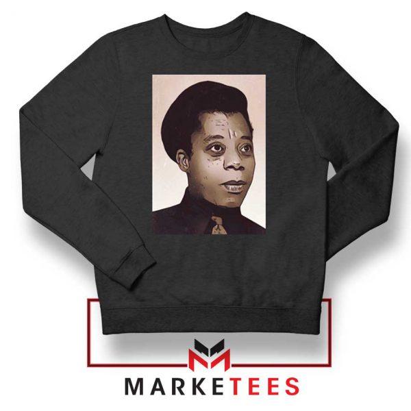 James Baldwin Potrait Sweatshirt