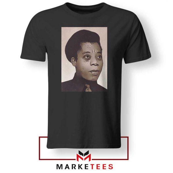 James Baldwin Potrait Tshirt