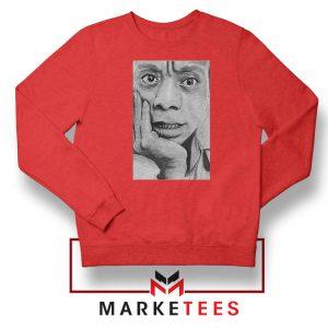 James Baldwin Red Sweatshirt
