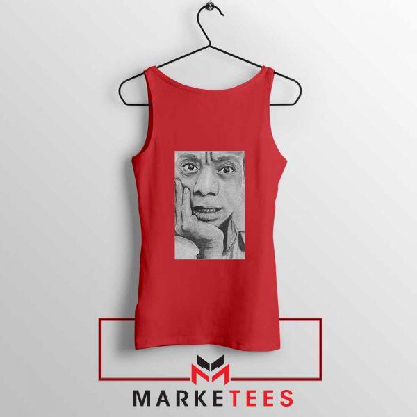 James Baldwin Red Tank Top