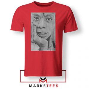 James Baldwin Red Tshirt