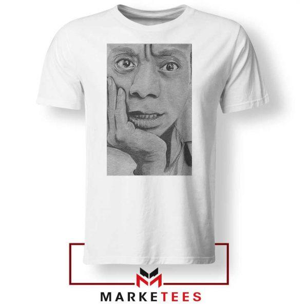 James Baldwin White Tshirt