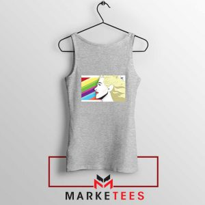 Marilyn Monrainbow Sport Grey Tank Top