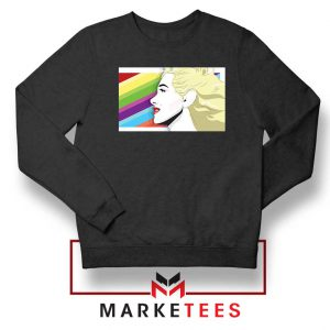 Marilyn Monrainbow Sweatshirt