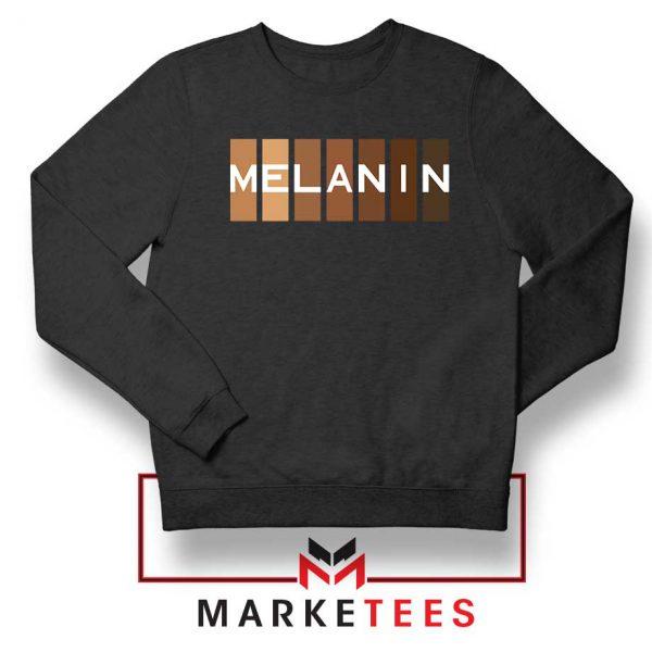 Melanin Feminist Black Sweatshirt