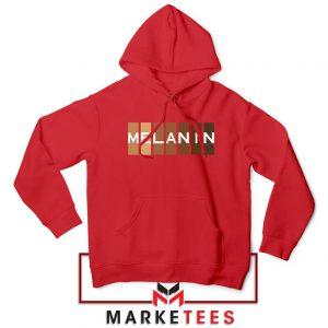 Melanin Feminist Red Hoodie