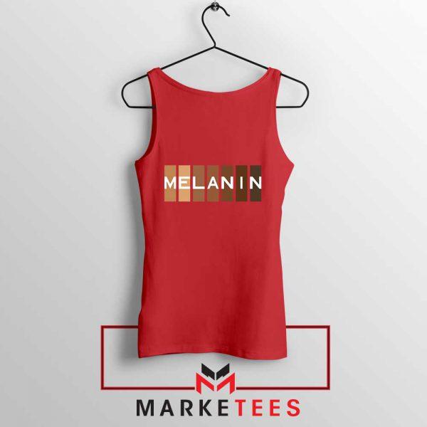 Melanin Feminist Red Tank Top
