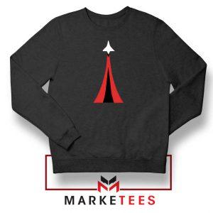 Netflix Space Force Black Sweatshirt